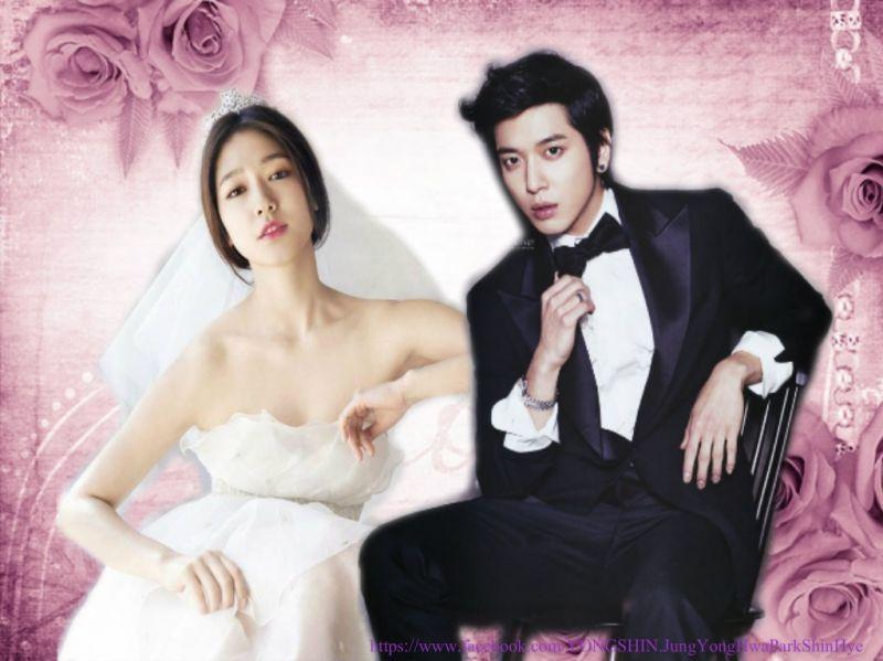 the bride and groom kekeke you Like my edit? ^^